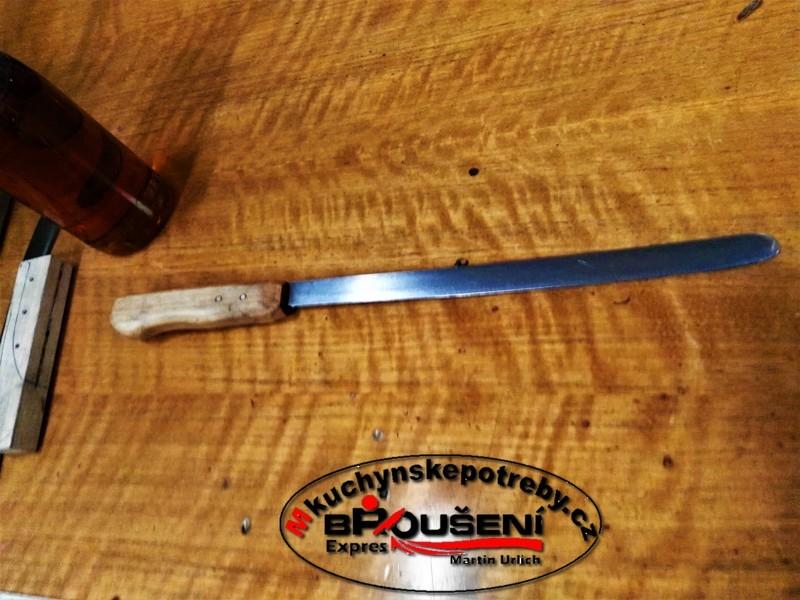 Výroba střenky starého dortového nože. 9