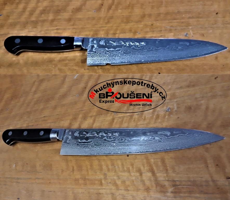 oprava nože