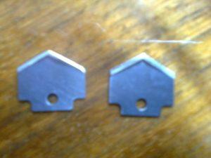 hroty na stříhání fotografického papíru