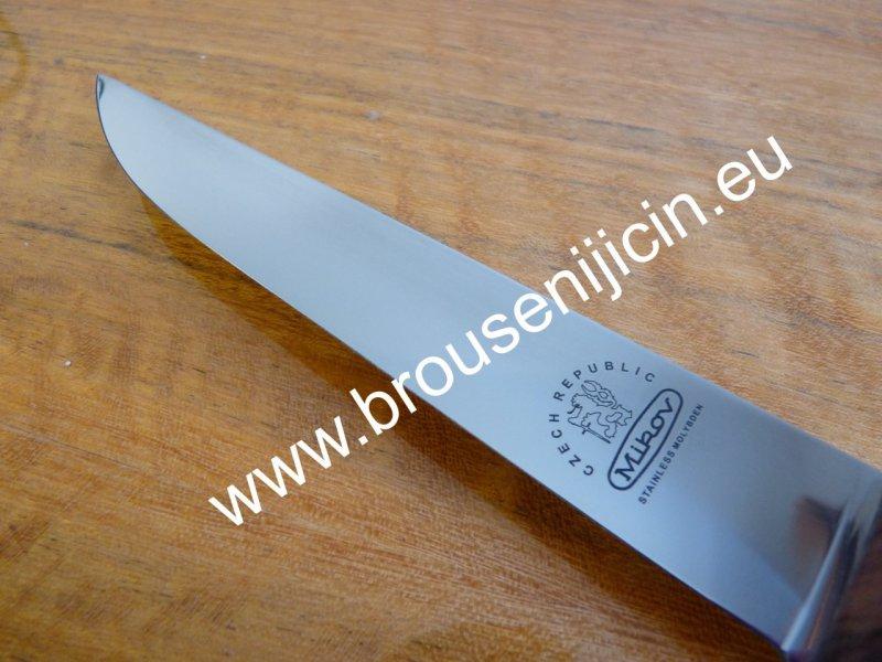 Vyřezávací nůž s délkou čepele 16 cm detail čepele