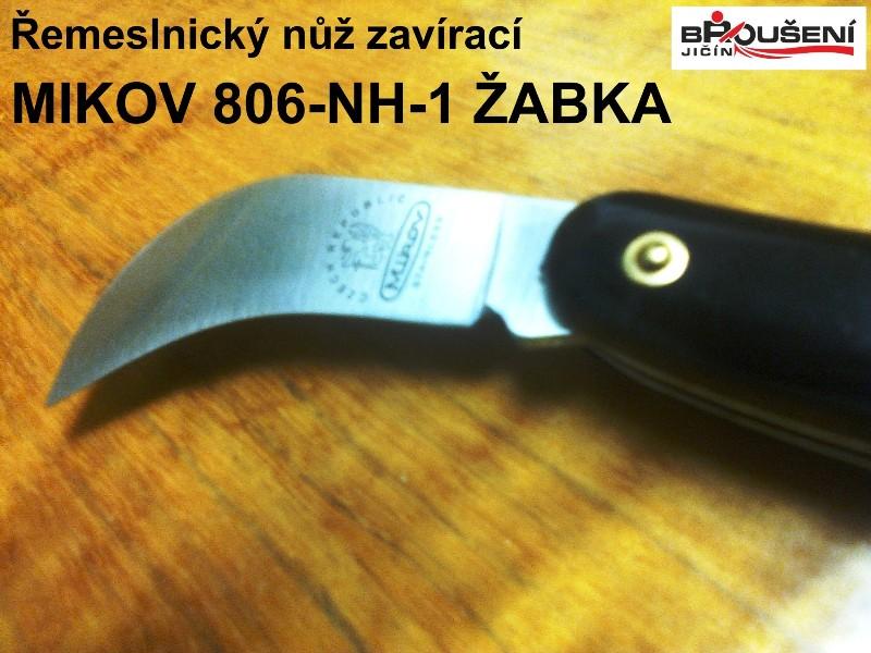 Detail čepele nože Mikov 806-NH-1