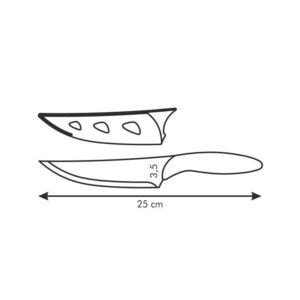 Antiadhezní nůž kuchařský PRESTO BIANCO 13 cm