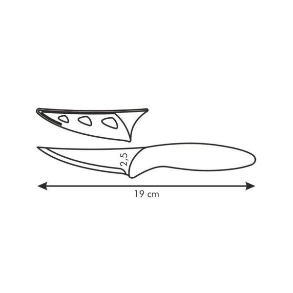 Antiadhezní nůž univerzální PRESTO BIANCO 8 cm