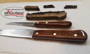 I Váš starý nůž může vypadat perfektně.